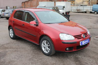 volkswagen golf 5 2005 года